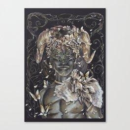 Abel le Faune Dorée Canvas Print