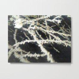 Frozen Krystals Metal Print