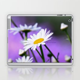 Exit 17 daisy * purple is the color of love Laptop & iPad Skin