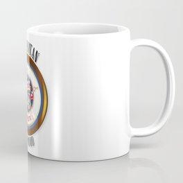 Minnesota Proud Flag Button Coffee Mug