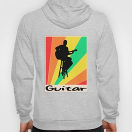 Guitar poster Bass Guitar Hoody