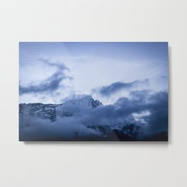 Nightfall in the Himalayas Metal Print
