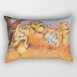 the prey Rectangular Pillow