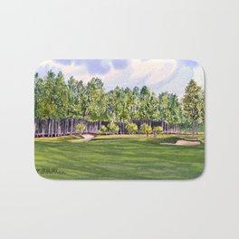 Pinehurst Golf Course No2 Hole 17 Bath Mat