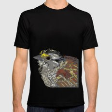 Rainbow Bird Mens Fitted Tee Black MEDIUM