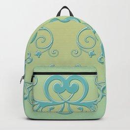 Mint tendrils emblem Backpack