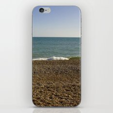 Evening Tide on a cobbled beach iPhone & iPod Skin