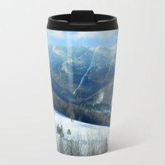 Ski Trails at Sugarbush Resort, Vermont Travel Mug