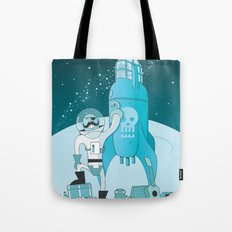 Space Pirate! Tote Bag