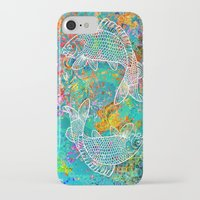 yin yang iPhone & iPod Cases featuring YIN & YANG by AlyZen Moonshadow
