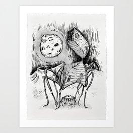 Ink House II Art Print