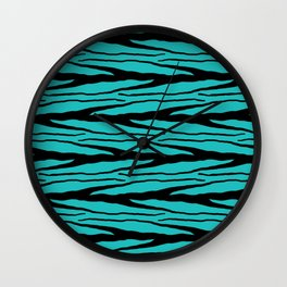 A New Wild - Blue Wall Clock