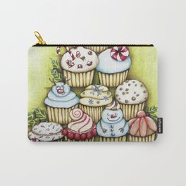 cupcake christmas tree Carry-All Pouch