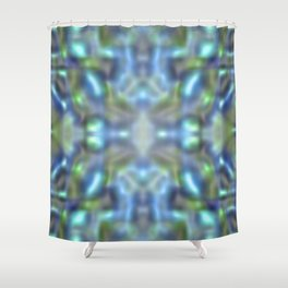 Soft water marble Shower Curtain