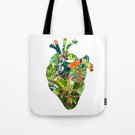 Botanical Heart Tote Bag