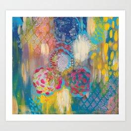 Wonderland Daydreams Art Print