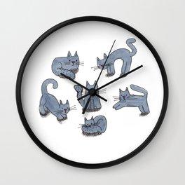 Kitty Club Wall Clock