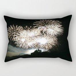 Fireworks House Rectangular Pillow