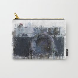 retro camera drawing - illustration / painting 1 Carry-All Pouch