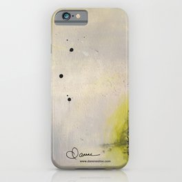 Scattered Energy iPhone Case