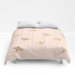 Busy Bees (Pink) Comforters