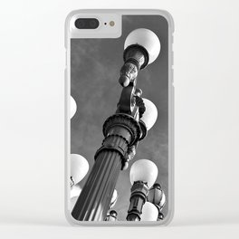 Street Lamps of La La Land Clear iPhone Case