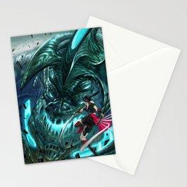 Monster Hunter Files Stationery Cards