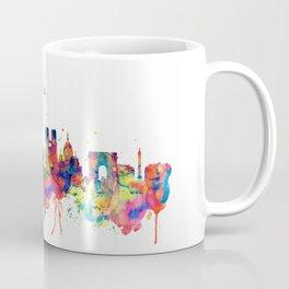 Paris Skyline Silhouette Coffee Mug