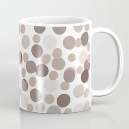 Neutral Colored Dots Coffee Mug