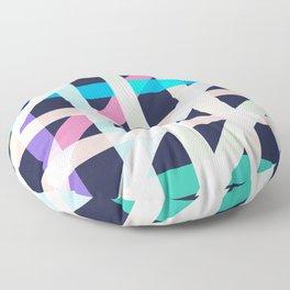 Slanted Lines Floor Pillow