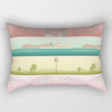 A Wes Anderson Collection Rectangular Pillow