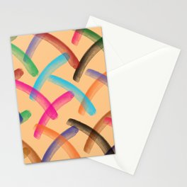 Colourful patterns Stationery Cards