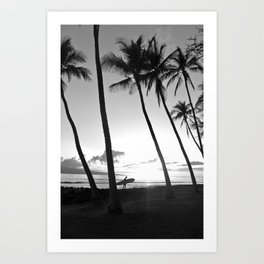 Another sunset over Maui Art Print