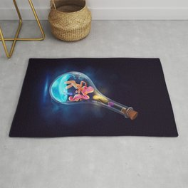Creation in an Ampoule Rug