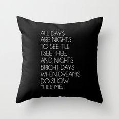 S43 Throw Pillow
