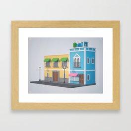 2O Framed Art Print