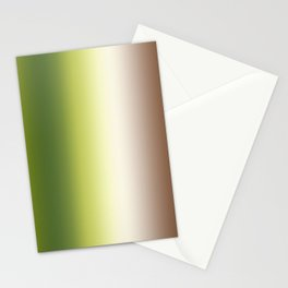 Ombre Shades of Green 1 Stationery Cards