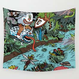 Some of us were born to explore!  Wall Tapestry