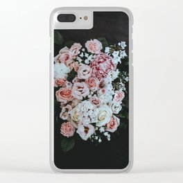 PINK ROSES BOUQUET Clear iPhone Case