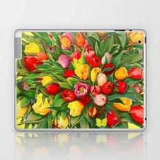 Tulip Bouquet Laptop & iPad Skin