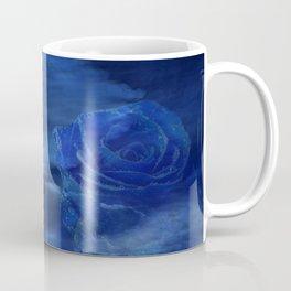 Blue Rose and Sky Coffee Mug