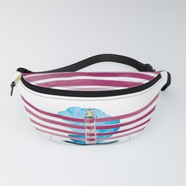 Follow me till the end of the stripes in the sky Fanny Pack