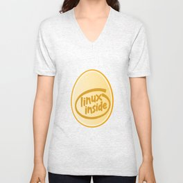 LINUX INSIDE  Unisex V-Neck