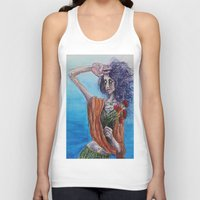 mirror Tank Tops featuring Mirror by Katy Daiber