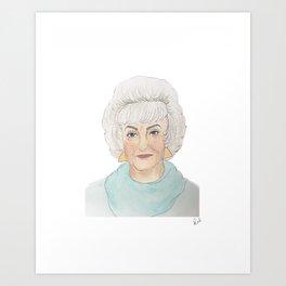 Dorothy Zbornak Art Print