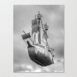 Sky sailor Canvas Print