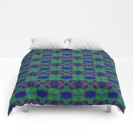 Tryptile 56b (Repeating 1) Comforters