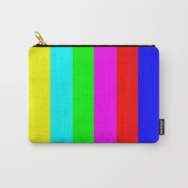 SMPTE color bars | TV Color Test Bars | Stand By Colour Bars Carry-All Pouch
