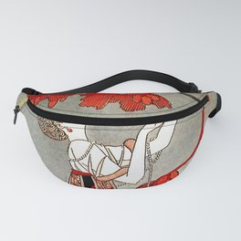 """""""The Fickle Bird"""" by George Barbier Fanny Pack"""