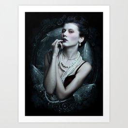 Dramatic Enchantress Art Print